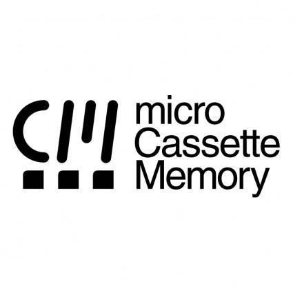 Micro cassette memory