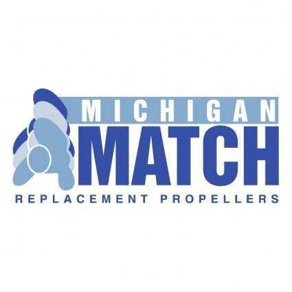 free vector Michigan match