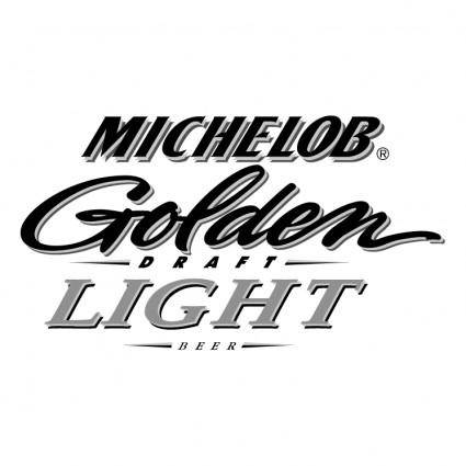 free vector Michelob golden draft light beer