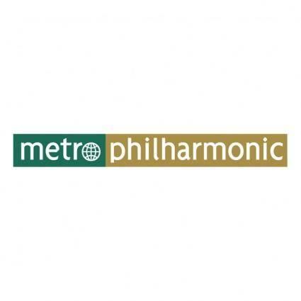 free vector Metro philharmonic