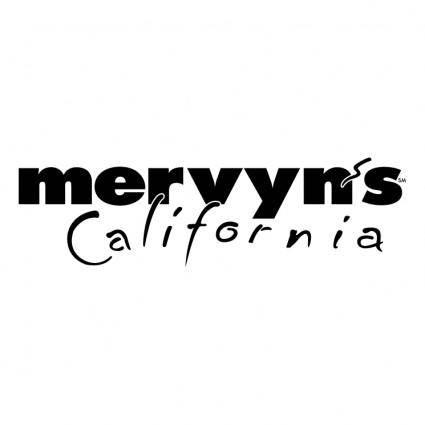 Mervyns california 0