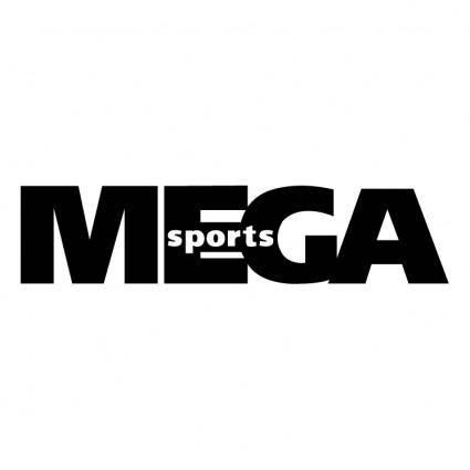 free vector Mega sports