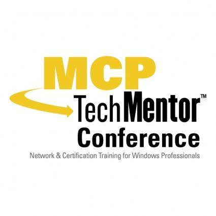 free vector Mcp techmentor conference