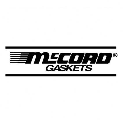 free vector Mccord gaskets