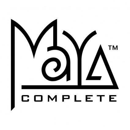 Maya complete
