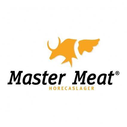 free vector Master meat