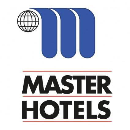 free vector Master hotels