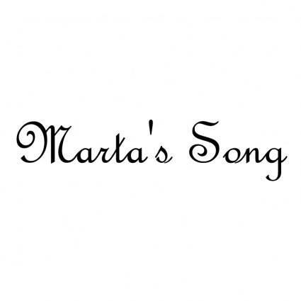 Martas song