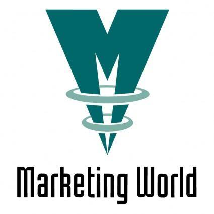free vector Marketing world