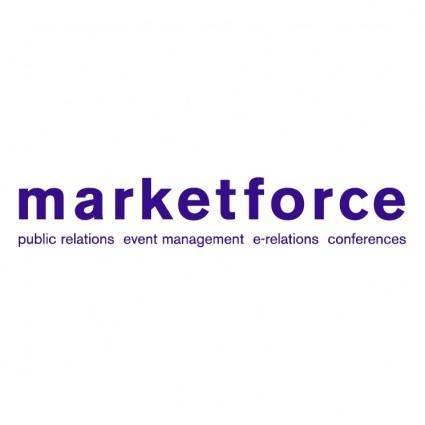 free vector Marketforce