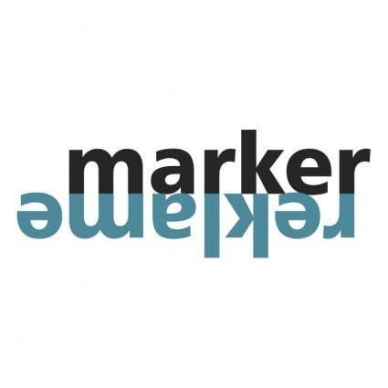 free vector Marker reklame