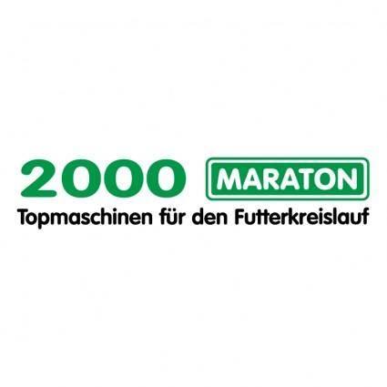 free vector Maraton 2000
