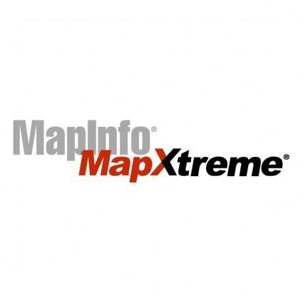 free vector Mapinfo mapxtreme