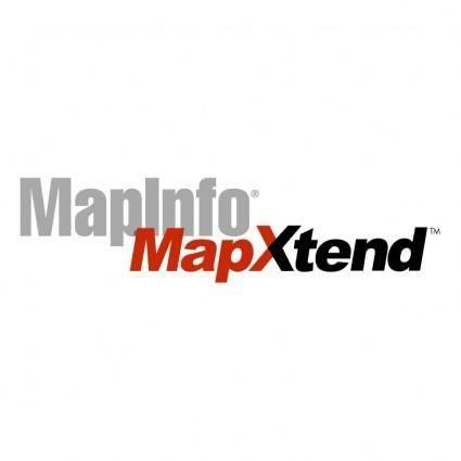 Mapinfo mapxtend