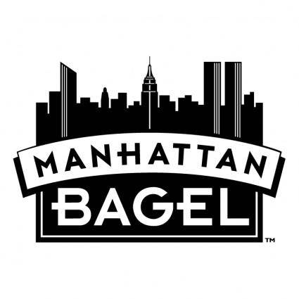 free vector Manhattan bagel 0
