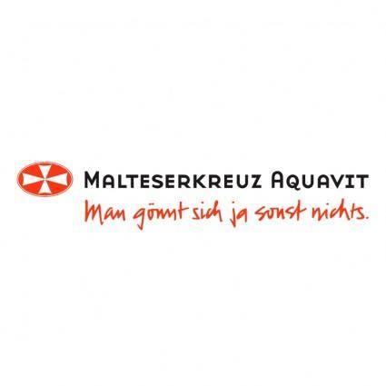 free vector Malteserkreuz aquavit