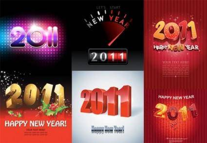 2011 vector creative fonts