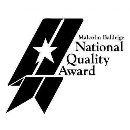 free vector Malcolm baldridge national quality award