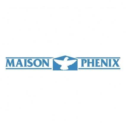 Maison phenix free vector 4vector for Maison phenix