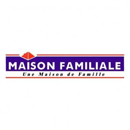 free vector Maison familiale