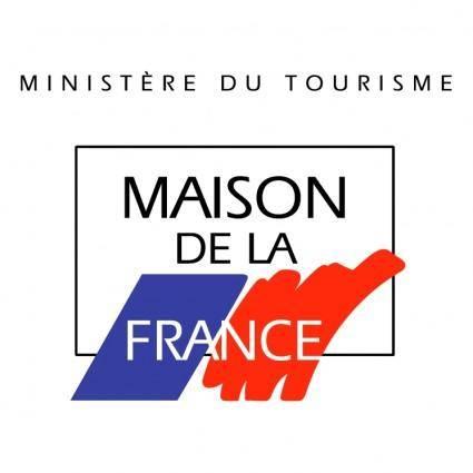 free vector Maison de la france
