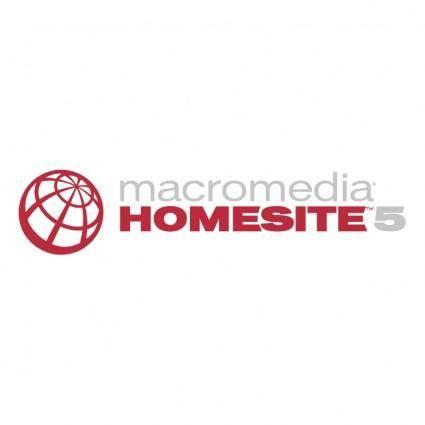 Macromedia homesite 5