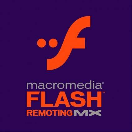 Macromedia flash remoting mx