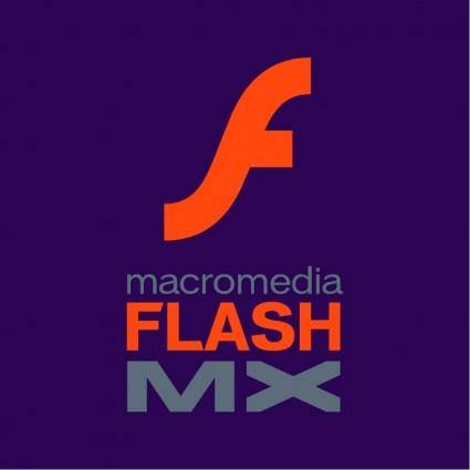 free vector Macromedia flash mx 0