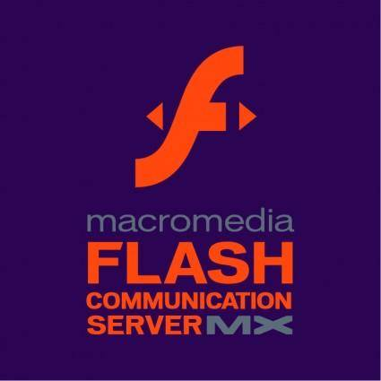 free vector Macromedia flash communication server mx