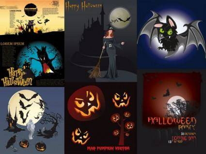 Halloween theme vector amendment