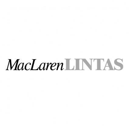 free vector Maclaren lintas