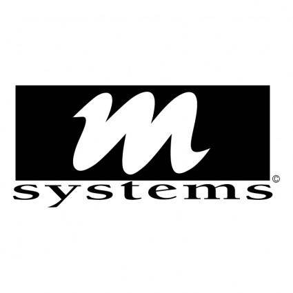 free vector M systems