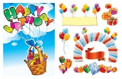 Happy birthday vector 2
