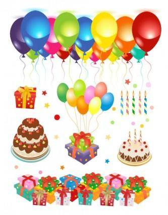 free vector Happy birthday clip art