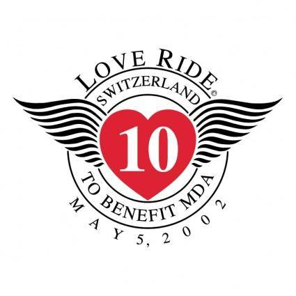 free vector Love ride switzerland