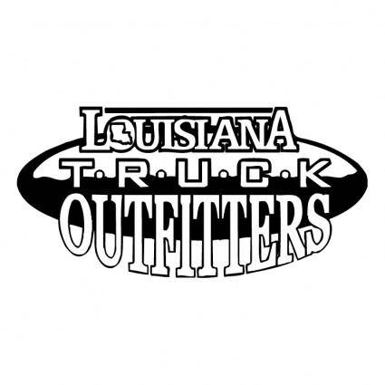 free vector Louisiana truck outfitters