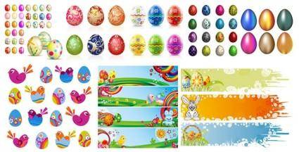 free vector Easter egg album vector
