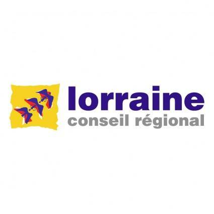 free vector Lorraine conseil regional 2