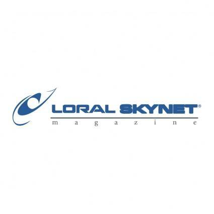 free vector Loral skynet magazine