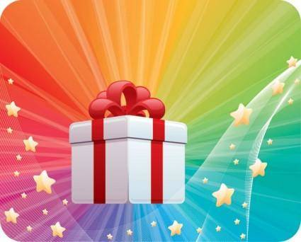 Light star vector gifts