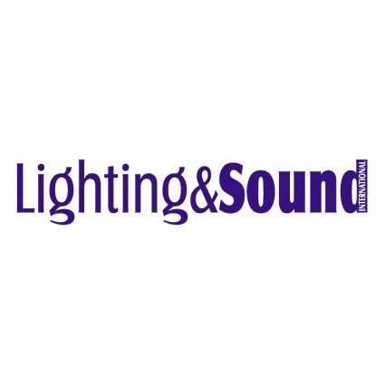 free vector Lighting sound international