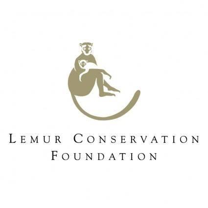 free vector Lemur conservation foundation