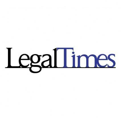free vector Legaltimes