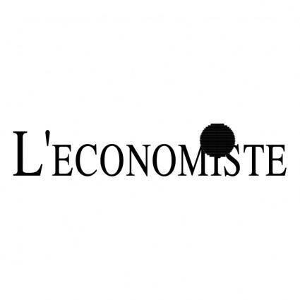 free vector Leconomiste
