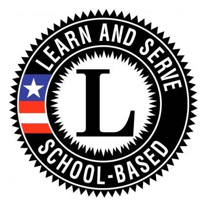 free vector Learn and serve america school based