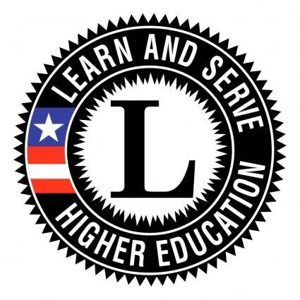 Learn and serve america higher education