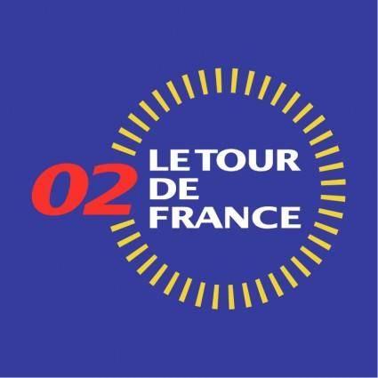 free vector Le tour de france 2002