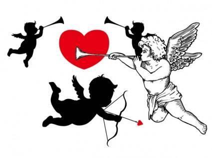 free vector Cupid vector