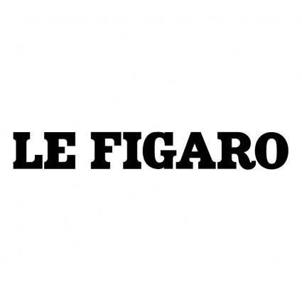 free vector Le figaro