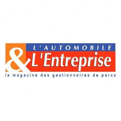 free vector Lautomobile lentreprise